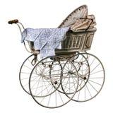 Edwardian摇篮车 免版税库存照片