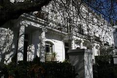 Rząd Edwardian domy w Londyn zdjęcia stock