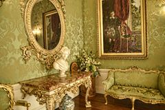Luxurious Corner at Beautiful Country House near Leeds West Yorkshire that is not National Trust Stock Photo