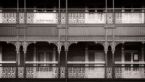 Edwardian facade Royalty Free Stock Photography