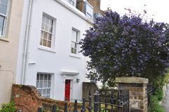 Edwardian hus London UK Royaltyfri Fotografi
