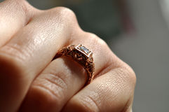 Edwardian Ring Royalty Free Stock Image