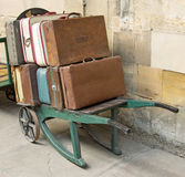 An Edwardian Station scene Stock Photos