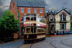 An Edwardian Tram Stock Photo
