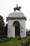 Edwards VII Rex, αναμνηστικό κτήριο Βικτώριας σε Kolkata Στοκ φωτογραφίες με δικαίωμα ελεύθερης χρήσης