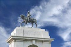 Edwards VII Rex imperator statue, India stock photos