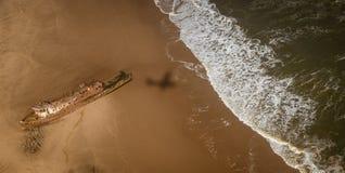 Edwin Bolin é um naufrágio famoso que migre 800 mete imagens de stock