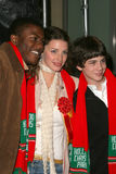Edwin Hodge,Jessica Pare,Logan Lerman Stock Photos