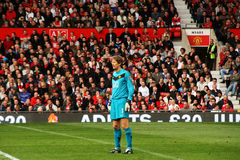 Edwin Van Der Sar Stock Photo