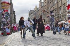 Edynburg festiwalu kraniec obrazy royalty free