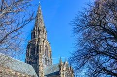 Edynburg kościół Obrazy Royalty Free