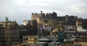 Edynburg miasta widok Obrazy Stock