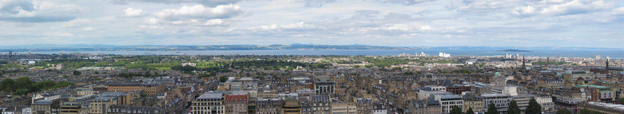 Edynburg pejzaż miejski Zdjęcia Stock