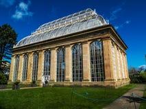 EDYNBURG, SZKOCJA, Kwiecień 18, 2016-The Wiktoriański Palmowy dom, Królewscy ogródy botaniczni, Edynburg, Szkocja Fotografia Stock