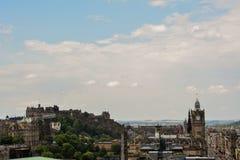 Edynburg widok Obrazy Stock