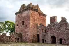 Edzell slott i Skottland Arkivbilder