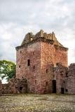 Edzell slott i Skottland Royaltyfri Bild