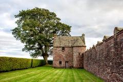 Edzell slott i Skottland Fotografering för Bildbyråer