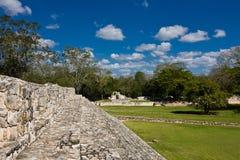 Edzna - παλαιά των Μάγια πόλη, Μεξικό στοκ φωτογραφία