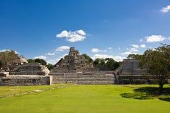 Edzna -老玛雅城市,墨西哥 库存照片