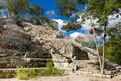 Edzna - alte Mayastadt, Mexiko Stockfotos