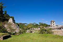 Edzna - oude Mayan stad, Mexico Royalty-vrije Stock Fotografie