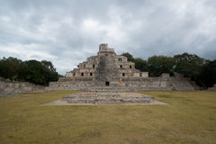 Edzna-Ruinen, Mexiko lizenzfreies stockfoto