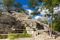 Edzna - vecchia città maya, Messico Fotografie Stock