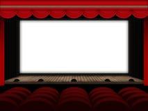 EDZR - cinema theatre Royalty Free Stock Photo