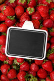 EDZR - Strawberry Board Stock Photography
