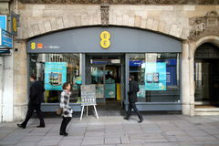 EE Phone Store Stock Photography