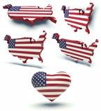 EE.UU. stock de ilustración
