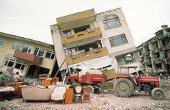 Eearthquake i Turkiet Arkivbild