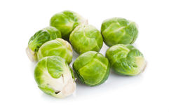 Eecological Brussels sprout Royalty Free Stock Images