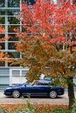 Eecutive αυτοκίνητο Προέδρου της Citroen C6 FFrench στο Ευρωπαϊκό Κοινοβούλιο Στοκ φωτογραφία με δικαίωμα ελεύθερης χρήσης