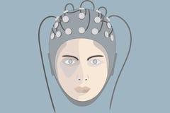 EEG 4 Image stock