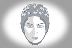 EEG 1 Royalty Free Stock Photo