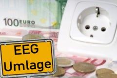 EEG Levy Royalty Free Stock Photo