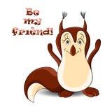 Eekhoorn 2 Royalty-vrije Stock Afbeelding