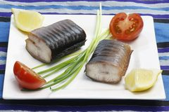 Eel Appetizer Stock Photography