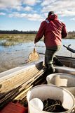 Eel Fisherman Stock Photos