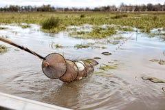 Eel Fishing Stock Image