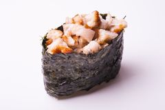 Eel gunkan sushi Royalty Free Stock Photography