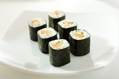 Eel Roll Stock Images