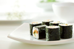 Eel Roll Royalty Free Stock Image