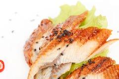 Eel sashimi Stock Photos