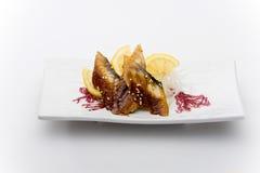 Eel sashimy Stock Image