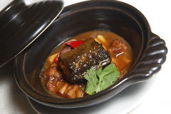 Eel stew Royalty Free Stock Photo