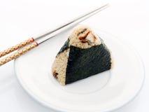 Eel sush Royalty Free Stock Photo