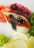 Eel Sushi Stock Photos